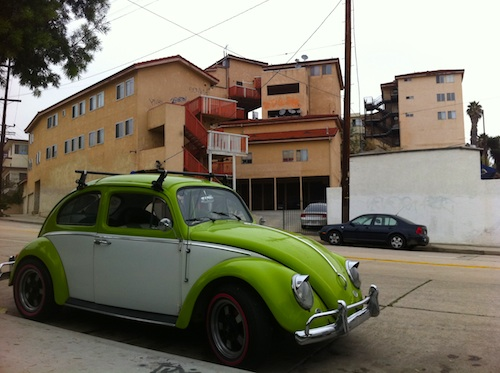 Angeleno Heights Favela