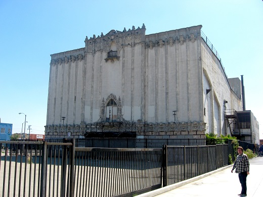 The Golden Gate Theater in East LA