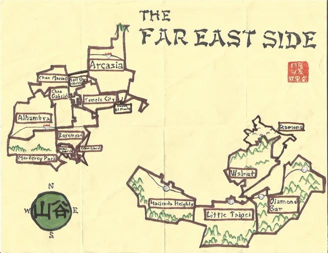 Pendersleigh & Sons Cartography's map of the Far Eastside