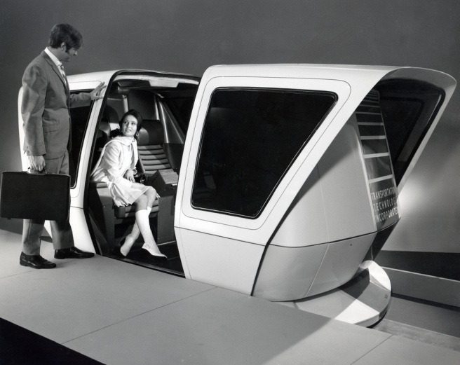 Transportation Technology Incorporated People Mover  January 1971.