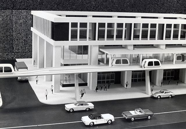 Transportation Technology Incorporated People Mover Structure  January 1971.