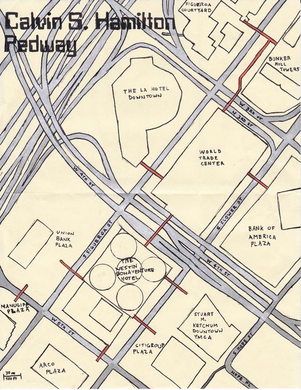 Pedersleigh & Sons Cartography's map of the Calvin S. Hamilton Pedway