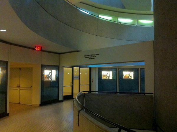 Inside the quiet post-3:00 p.m. world of the Westin Bonaventure