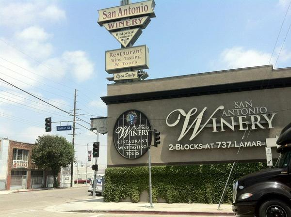 San Antonio Winery, this way -->