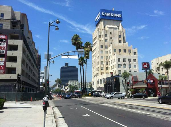 Wilshire-La Brea - Art Deco buildings