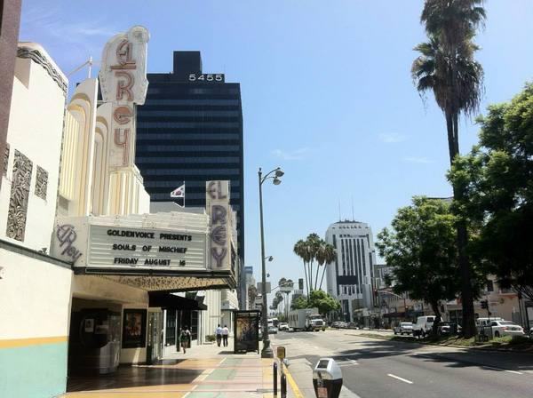 Wilshire-La Brea - El Rey and KACC