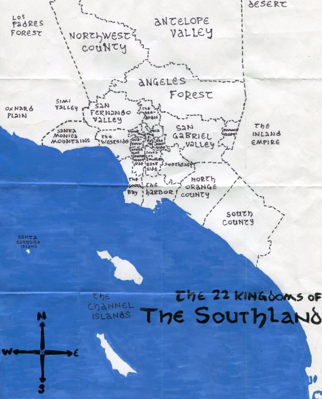 Pendersleigh & Sons Cartography's map of the Southland