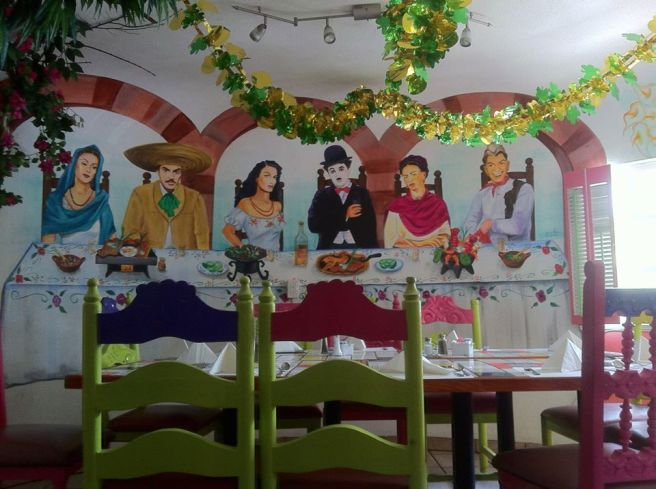 Charlie Chaplin, Dolores del Rio, Jorge Negrete, Maria Felix, Frida Kahlo and Cantinflas