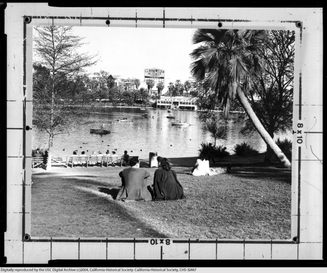 MacArthur Park in the 1950s