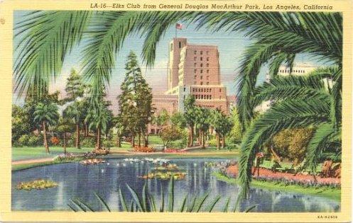 MacArthur Park Postcard