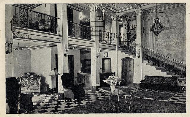 Stratford Hotel postcard