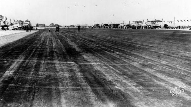 Runway at Allen Field