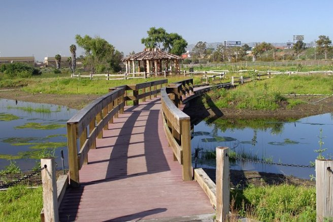 Bixby Marshlands (credit: Sanitation Districts of Los Angeles County)