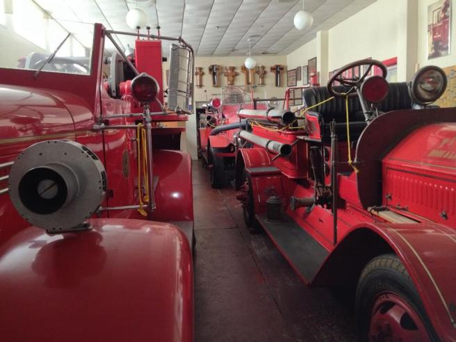 Even more firetrucks in the San Diego Firehouse Museum