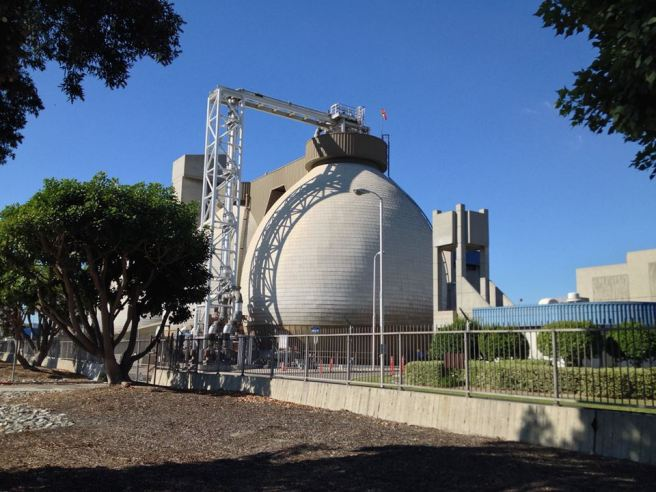 Terminal Island Water Reclamation Plant digesters