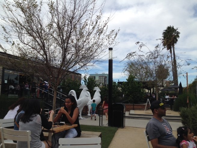 Anaheim Packing District backyard