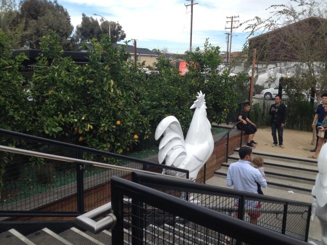 Anaheim Packing District oragne