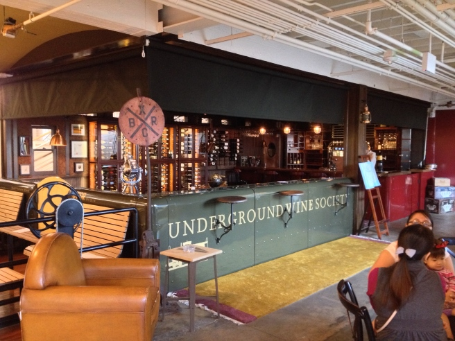 Anaheim Packing District Underground Wine Bar