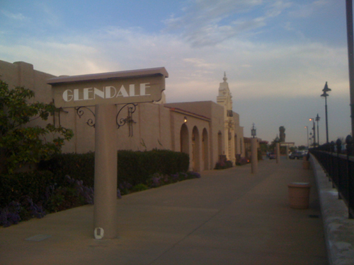 The Amtrak depot was used in Pee-Wee's Big Adventure. >