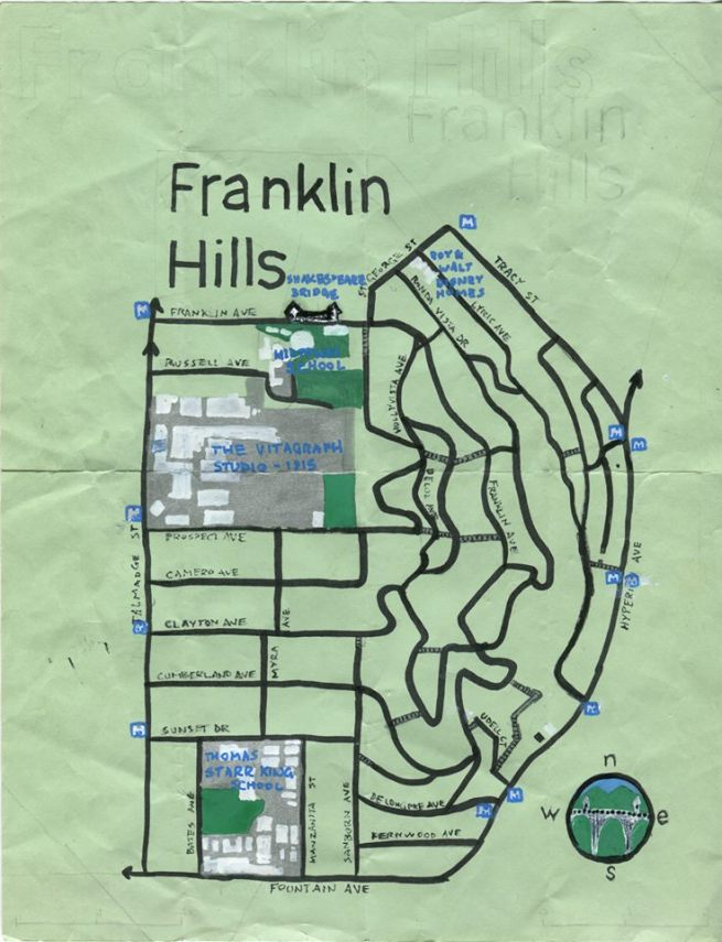 Pendersleigh & Sons Cartography's map of Franklin Hills