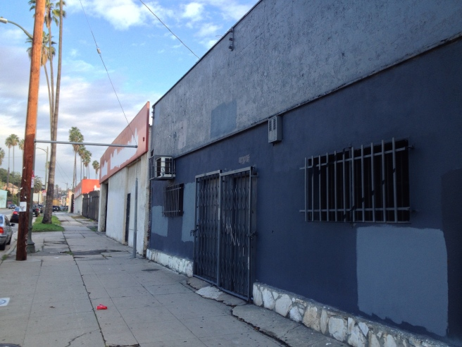 Empty storefronts -- future site of a residential development?