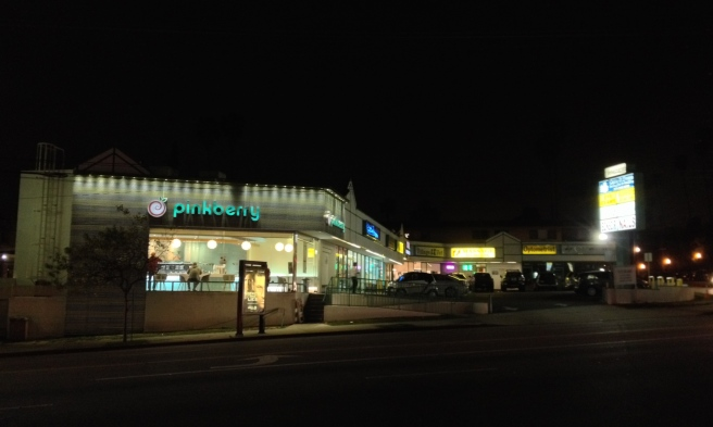 2829 Hyperion Avenue at Night