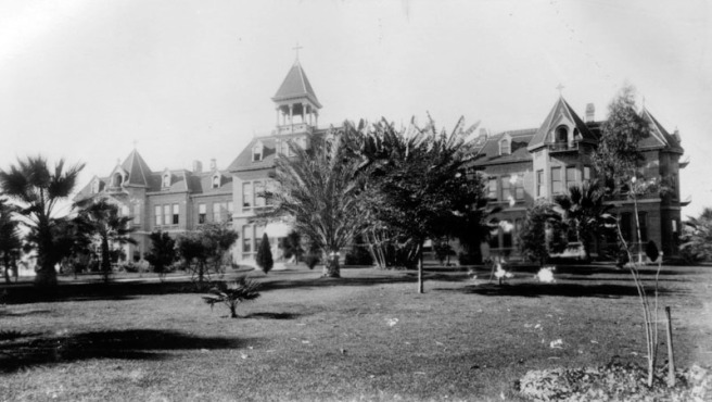 Sisters Hospital in the 1890s