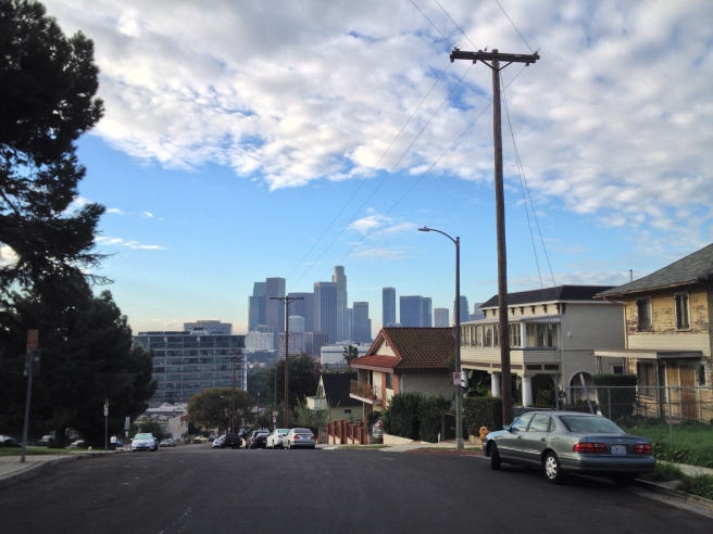 The Skyline from Victor Heights in 2015