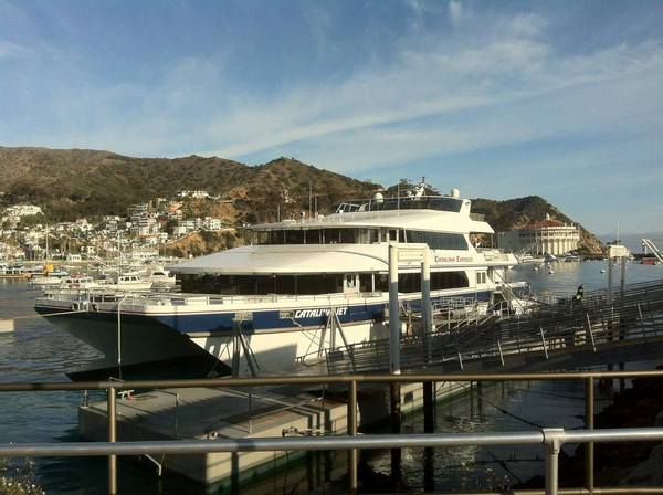 Catalina Express at Avalon Beach