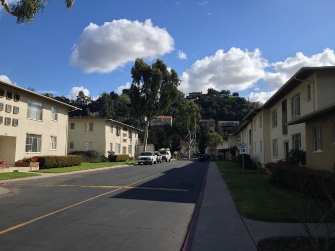 The Garden Apartments style Yosemite Gardens (1951)