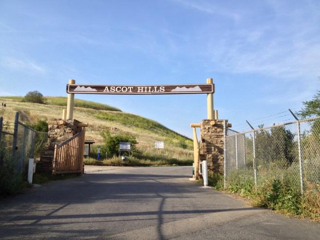 Ascot Hills Park Entrance