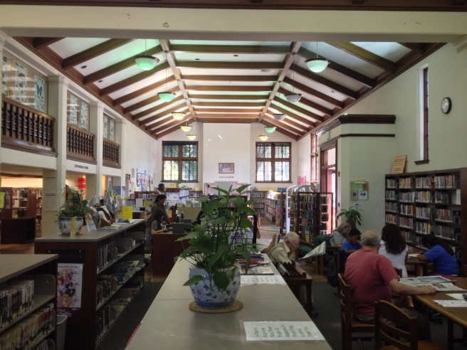 Inside the Memorial Branch Library