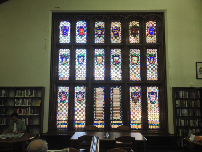 Judson's stained-glass memorial