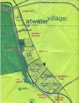 Oil paint map of Atwater Village, 2014 (Version 2) -- California Fool's Gold — Exploring Atwater Village