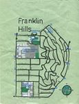 Oil paint map of Franklin Hills, 2014 -- California Fool's Gold — Exploring Franklin Hills