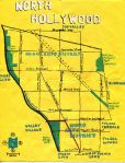 Oil paint map of North Hollywood, 2014 -- California Fool's Gold — Exploring North Hollywood, The Gateway to the Valley