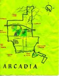 Ink map of Arcadia, 2011 -- California Fool's Gold — Exploring Arcadia, The San Gabriel Valley's Community of Homes