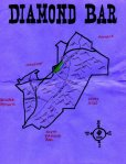 Ink map of Diamond Bar, c. 2010