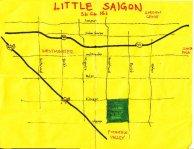 Little Saigon California Map.Pendersleigh Sons Cartography Eric Brightwell
