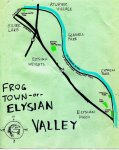 Ink map of Elysian Valley (Frogtown) -- California Fool's Gold — Exploring Elysian Valley (aka Frogtown)