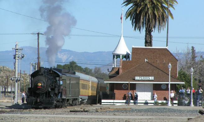 Perris, California (image source: Orange Empire Railway Museum)