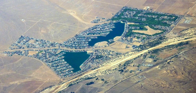 Aerial view of Helendale (Image source: Bobak Ha'Eri)