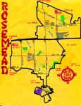Ink map of Rosemead, c. 2011 -- California Fool's Gold -- Exploring San Gabriel, A City with a Mission