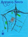 Map of the Arroyo Seco neighborhood, c. 2011