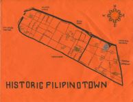 Ink map of Historic Filipinotown, c. 2012 (Version 2) -- California Fool's Gold — Exploring Filipinotown