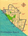 Ink map of Huntington Beach, 2011 -- California Fool's Gold — Exploring Huntington Beach