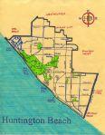 Ink map of Huntington Beach, 2011 -- California Fool's Gold — Exploring Huntington Beach