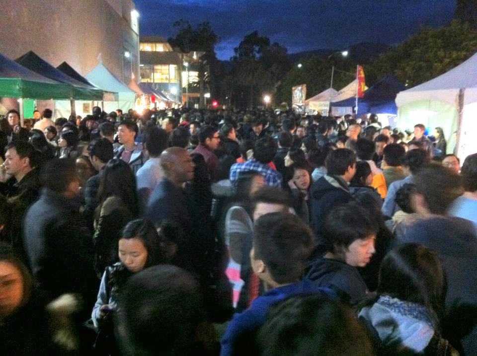 The first, crazy 626 Night Market in 2012