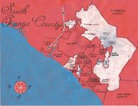 Oil paint map of South Orange County, 2013 -- California Fool's Gold — A South Orange County Primer