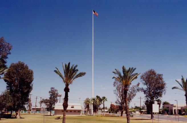 The Calipatria Flagpole